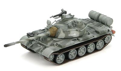 T-55A, tanque medio Ruso, Alianza del Norte, unidad de élite 'Zabati', Frente de Bagram, Noviembre, 2001 1:72, Hobby Master