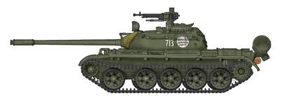 "T-55A, tanque medio Ruso ""713"", carro de combate talibán, Afganistán 1:72, Hobby Master"