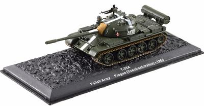 T-55A Ejército Polaco, Praga, 1968, 1:72, Altaya