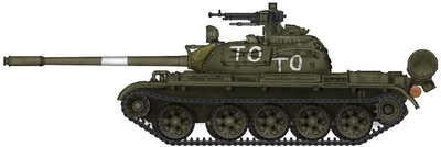 T-55A MBT, Slovenia TO, June 1991, 1:72, Hobby Master