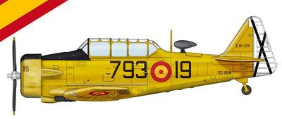 T-6 Texan, España, 1:72, Hobby Master