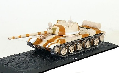 T-62 Egyptian Armoured Brigade, Egypt-Libya border, 1979, ,1:72, Altaya