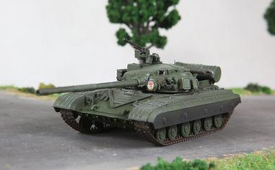 T-64B, Ejército Soviético, 1981, 1:72, Modelcollect
