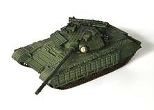 T-64BV Main Battle Tank , Ejército Soviético, 1985, 1:72, Modelcollect