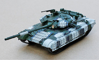 T-64BV Main Battle Tank , War in Ukraine, 2015, 1:72, Modelcollect
