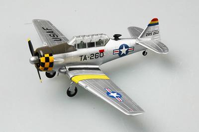 T-6G Texan 6147 TCS, Base on Seoul City, 1952, 1:72, Easy Model