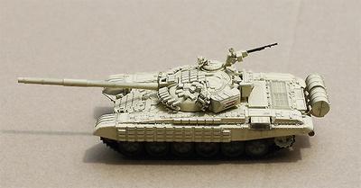 T-72AV Main Battle Tank, Guerra de Siria,  2015, 1:72, Modelcollect