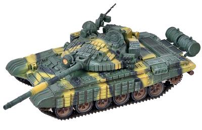 T-72B con Blindaje Reactivo Activo (ERA), Ejército Soviético, 1980, 1:72, Modelcollect