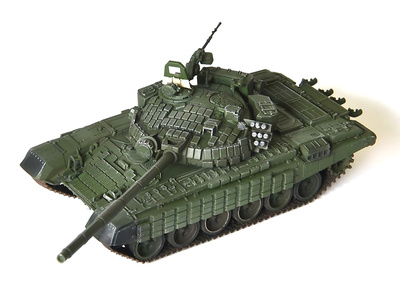 T-72B with ERA in Georgia War,2008, 1:72, Modelcollect
