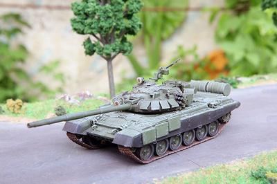 T-72BA (BM), Ejército Ruso, 1:72, Modelcollect