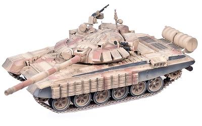 T-72BM con Kontakt-1 (armadura reactiva), Guerra de Siria, Alepo, 2016, 1:72, Modelcollect
