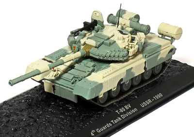 T-80 BV, 4th Guards Tank Division, USSR, 1990, 1:72, Altaya