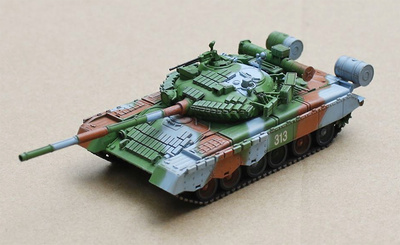 T-80BV, Soviet Army, East Germany, 1989, 1:72, Modelcollect
