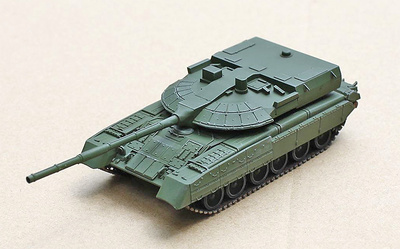 T-80UM2 (Black eagle) Main Battle Tank, Russian Army, 1997 show, 1:72, Modelcollect