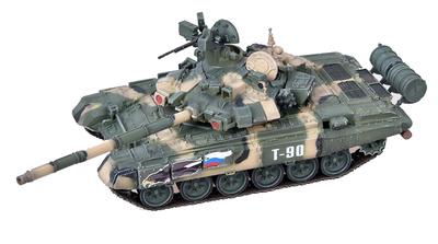 T-90 main battle tank, 38 Instituto de Investigación Científica y Pruebas Militares en Kubinka, 1:72, Modelcollect