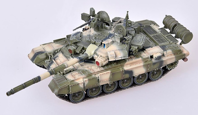 T-90A, 19th Motorized Rifle Brigade, Distrito Militar del Norte del Caúcaso, Ejército Ruso, 2010, 1:72, Modelcollect
