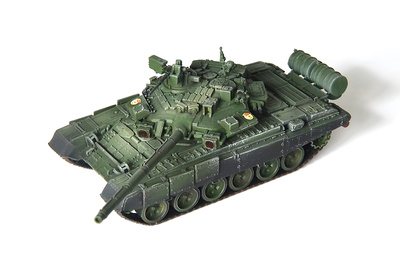 "T-90A 27th Guards Rifle ""Sevastopol"" Brigade, No.242, Moscow, April, 2012, 1:72, Modelcollect"