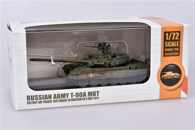 T-90A MBT, Desfile del Día de la Victoria en la Plaza Roja de Moscú, 9 de Mayo de 2015, 1:72, Modelcollect