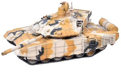 T-90MS, Camuflaje del Desierto, Ejército Ruso, Feria de Armamento, 2014, 1:72, Modelcollect