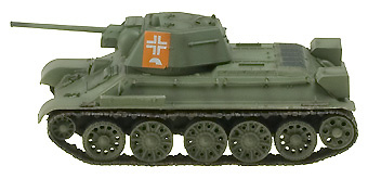 T34/76, German Army, 1943, 1:72, Easy Model