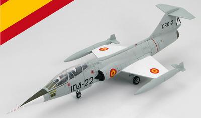 TF-104G Starfighter, #104-22, Ejército del Aire,  España, 1965-1972, 1:72, Hobby Master