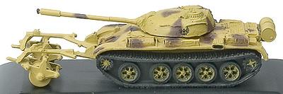 TR, EGYPT, CARRO T-55 MBT, w/KMT-5, 1:144