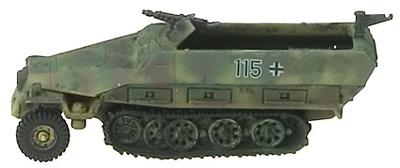TR, GERMANY, SEMIORUGA  Sd.Kfz. 251/1  Ausf.D, 1:1