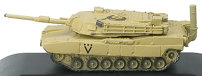 TR, U.S., CARRO M1A1 MBT, Desert Storm, 1:144