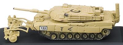 TR, U.S.A.,  M1A1 MBT w/BSC, LIMPIAMINAS, 1:144