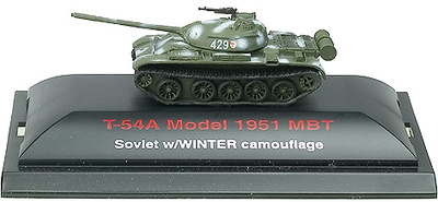 TR, URRS, CARRO T-54A MBT, 1951, 1:144
