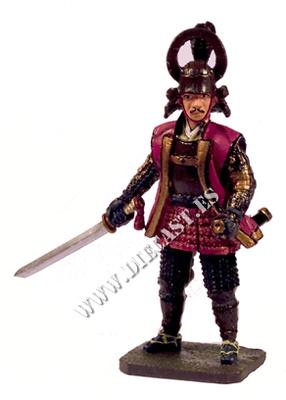 Tachibana Muneshige, 1569-1642, Samurai, 1:30, Del Prado