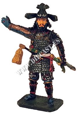 Takenaka Shigeharu, 1544?-1579, Samurai, 1:30, Del Prado