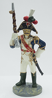 Tambor Mayor, Regimiento Vieja Guardia, 1808-1810, 1:32, Eaglemoss