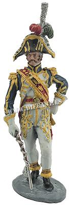Tambor Mayor del 1º Regimiento de Cazadores a Pie de la Guardia Imperial, 1806, 1:32, Hobby & Work