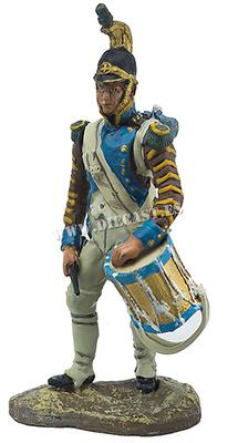 Tambor de la Legión Piamontesa, 1807, 1:30, Hobby & Work