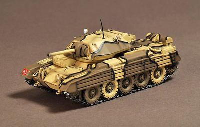 Tanque Crusader del Reino Unido MK.VIa Séptima División del Ejército, África del Norte 1944, 1:72, War Master