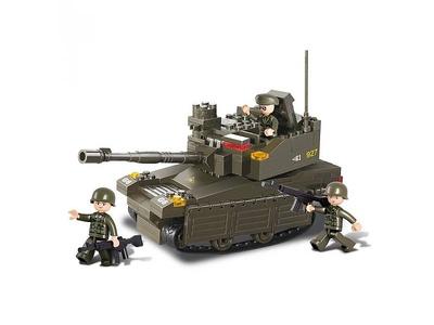 Tanque Leopard 2A6M, Sluban