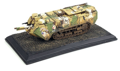 Tanque Saint-Chamond, Ejército Francés, #AS31 Chantecoq, Francia, 1917, 1/72, Wings of the Great War