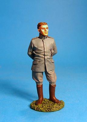 "Teniente Hermann Frommherz, ""Hard Luck Hermann"", Alemania, 1917, 1:30, John Jenkins"