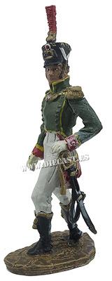 Teniente del Regimiento de Flanqueurs-Granaderos de la Guardia Imperial, 1813-14, 1:30, Hobby & Work