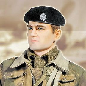 Terry Davies, Tripulante Británico de Carros, Royal Armoured Corps, Noroeste de Europa, 1944, 1:6, Dragon Armor