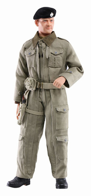 Terry Davies (Private), British Tank Crewman Royal Armoured Corps, Northwest Europe, 1944, 1:6, Dragon Figures