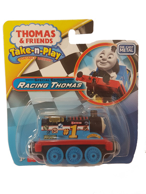 Thomas & Friends, Take-n-Play, Racing Thomas Special Edition, Fisher Price