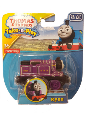 Thomas & Friends, Take-n-Play, Ryan, Fisher Price
