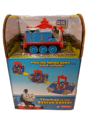 Thomas & Friends, Thomas at the rescue center, Cube Station, Fisher Price