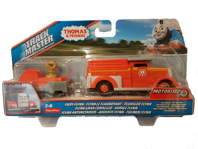 Thomas & Friends, Track Master Motorized Railway, Fiery Flynn, Fisher Price