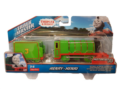 Thomas & Friends, Track master motorized railway, Henry, Fisher Price