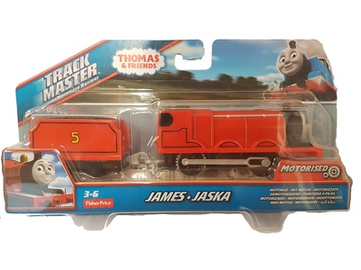 Thomas & Friends, Track master motorized railway, James, Fisher Price