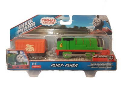 Thomas & Friends, Track master motorized railway, Percy, Fisher Price