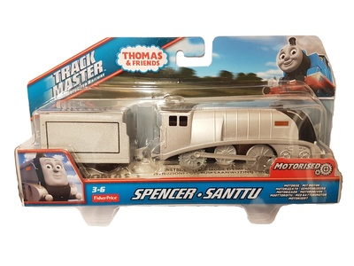 Thomas & Friends, Track master motorized railway, Spencer, Fisher Price
